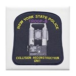 NYSP Collision Investigation Tile Coaster