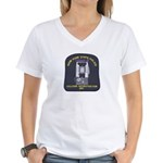 NYSP Collision Investigation Women's V-Neck T-Shir