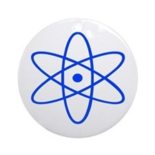 Bohr's Model of the Atom Ornament (Round)