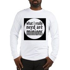 minionsbutton Long Sleeve T-Shirt
