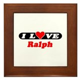 I Love Ralph Framed Tile