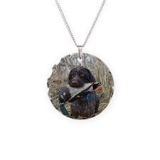 German wirehaired pointer ca Necklace