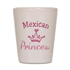 Mexican Princess Shot Glass