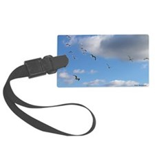 seagulls Luggage Tag