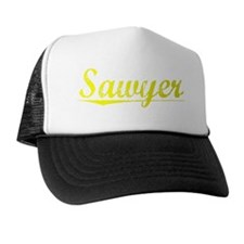 Sawyer, Yellow Trucker Hat
