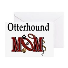 Otterhound Mom Greeting Card