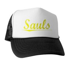 Sauls, Yellow Trucker Hat