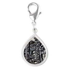 Shea's Performing Arts Cent Silver Teardrop Charm