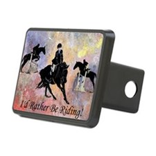 Id Rather Be Riding! Horse Hitch Cover