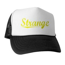Strange, Yellow Trucker Hat