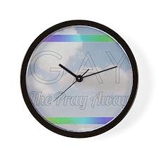 Gay The Pray Away Wall Clock