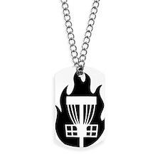Fireball Basket black Dog Tags
