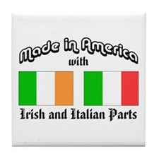 Irish-Italian Tile Coaster