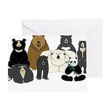 Bears world Greeting Card