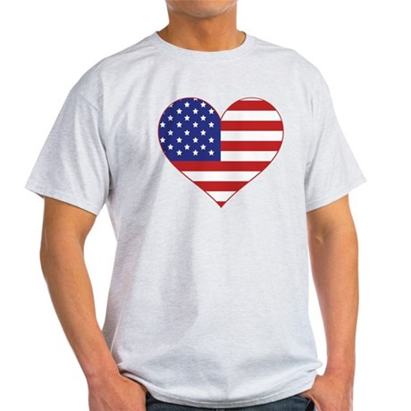 Stars & Stripes Heart Light T-Shirt