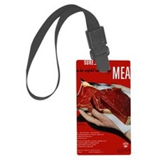 MeatPoster Luggage Tag