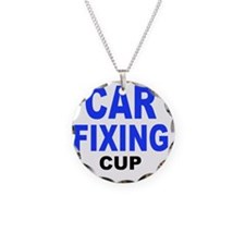 CAR FIXING CUP Necklace