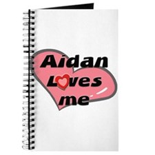 aidan loves me Journal