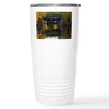 Covered Bridge Autumn V Travel Mug