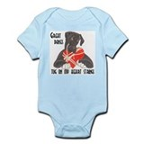N Blk/Wht Tug Onesie