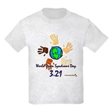 World Down Syndrome Day Kids T-Shirt