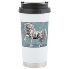 White Tiger Unicorn Travel Mug