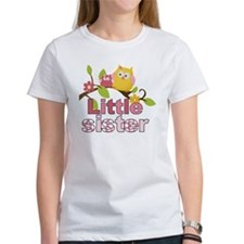 Happy Owls Little Sister Tee
