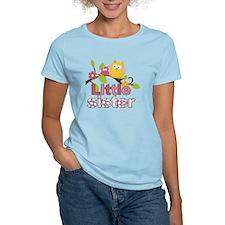 Happy Owls Little Sister T-Shirt