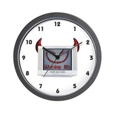 Devil TV Wall Clock