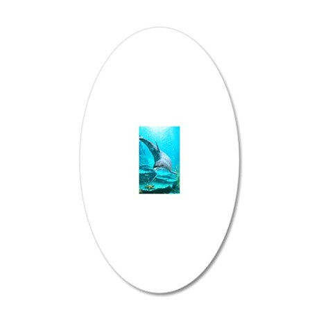 dol_iPhone_Wallet_Case 20x12 Oval Wall Decal