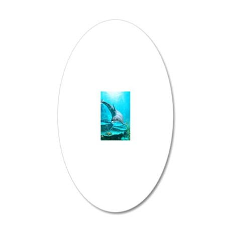 dol_Business Card Case 20x12 Oval Wall Decal