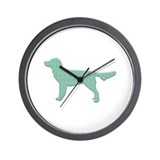 Paisley Moonster Wall Clock