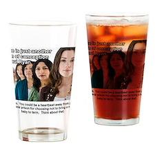 Rape Drinking Glass