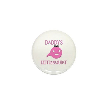 DADDY'S LITTLE SQUIRT Mini Button (100 pack)