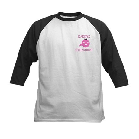 DADDY'S LITTLE SQUIRT Kids Baseball Jersey