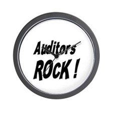 Auditors Rock ! Wall Clock