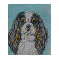 Cavalier King Charles Spaniel headst Throw Blanket