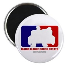 "Major League Couch Potato 2.25"" Magnet (100 pack)"