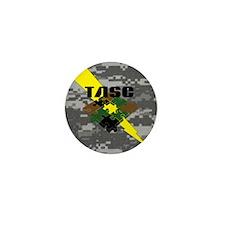 TASC Camo Logo Mini Button