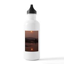 Smokey Flathead 5x7 Water Bottle
