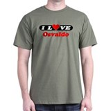 I Love Osvaldo T-Shirt