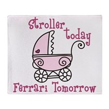 Stroller Today Throw Blanket