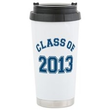 Class Of 2013 Blue Travel Mug