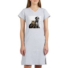 Animal intelligence, conceptual Women's Nightshirt