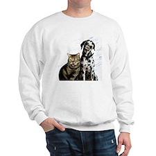 Animal intelligence, conceptual artwork Sweatshirt