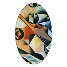 Banjo (guitar) and glasses by Juan  Decal