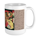 test, large mug, Japanese women