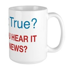 Is That True? Or Did You Hear It on Fox Mug
