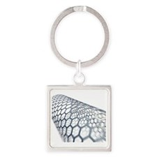 Carbon nanotube Square Keychain
