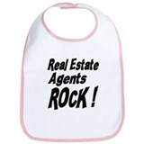 Real Estate Agents Rock ! Bib